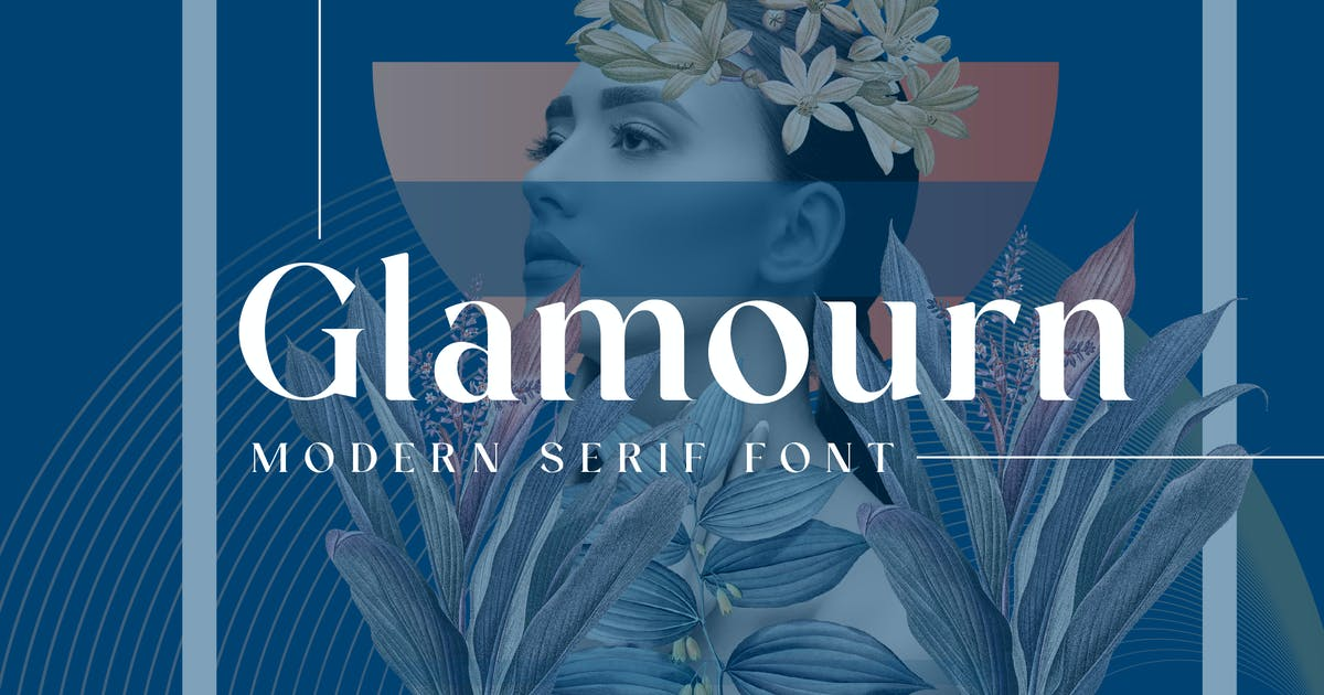 Download Glamourn Display Font by GranzCreative