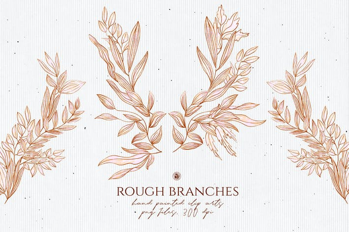 Cover Image For Rough Branches