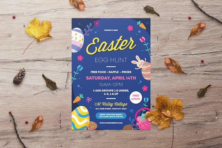 Cover Image For Easter Egg Hunt Flyer