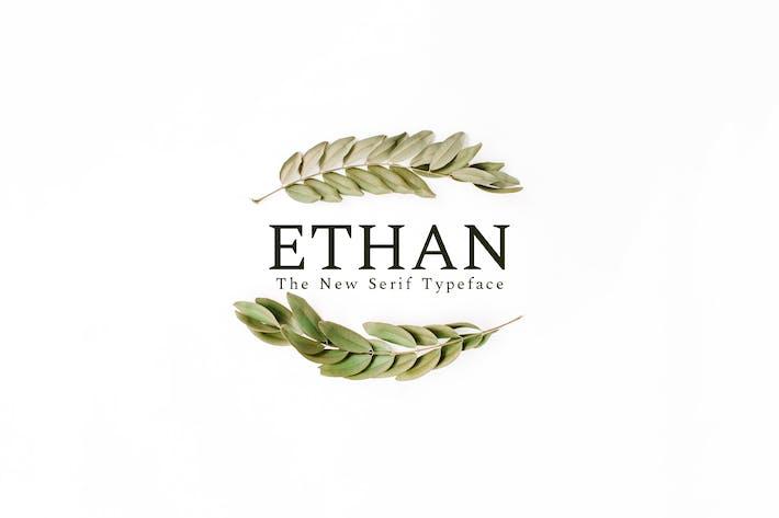 Thumbnail for Ethan Serif Font Family
