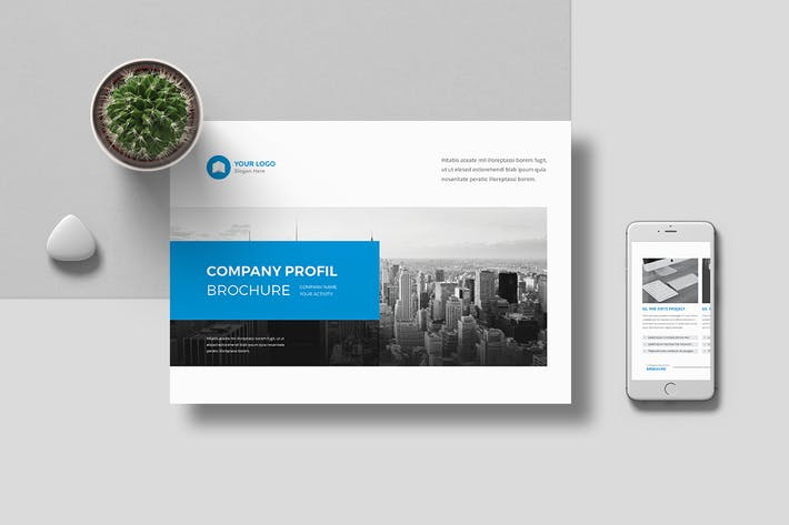 Cover Image For Company Profile Landscape