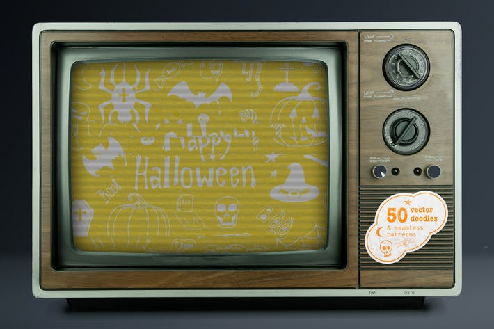 Thumbnail for Halloween Special Vector Set