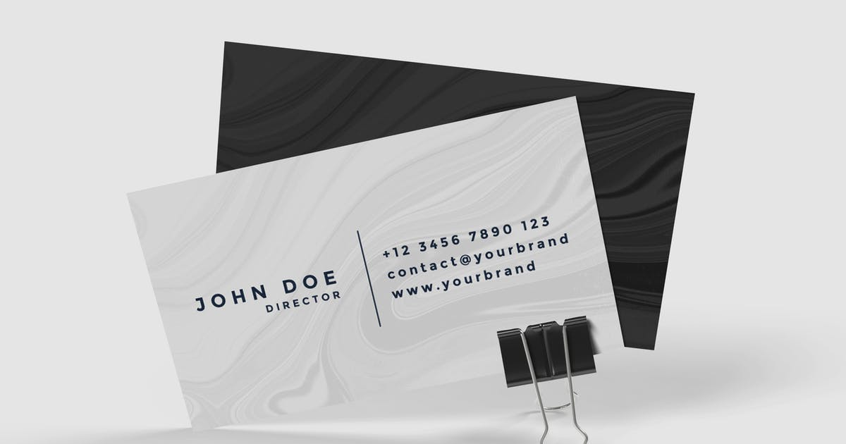 Download Business Card Product Mockup V.2 by IanMikraz
