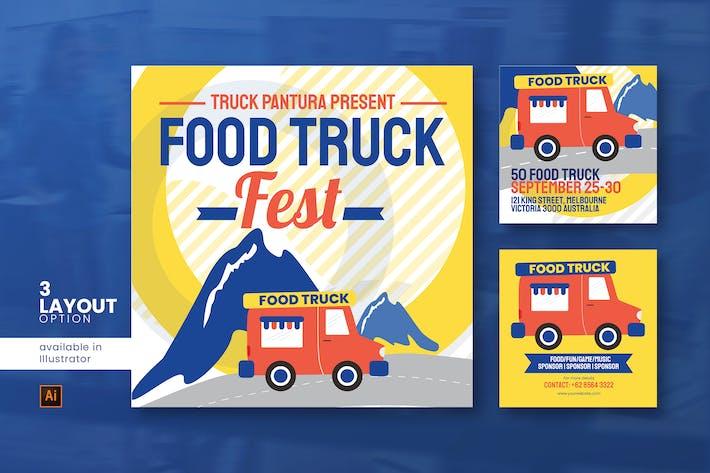 Thumbnail for Food Truck Social Media Post