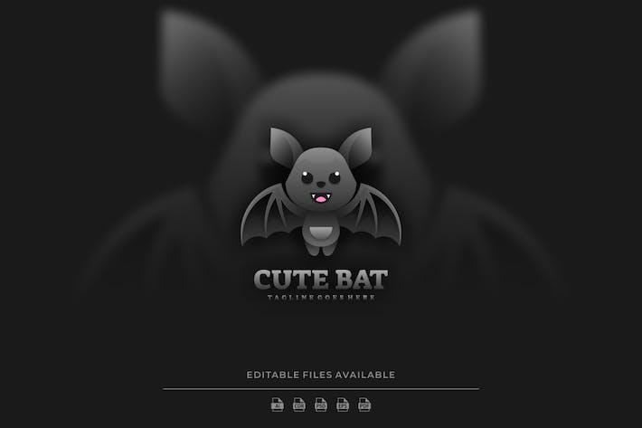 Bat Gradient Logo