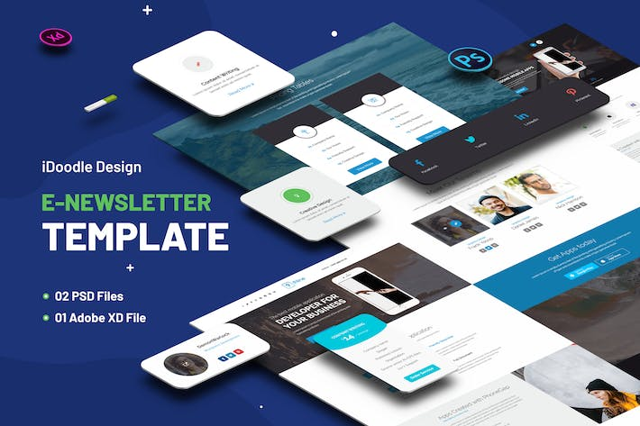 Thumbnail for Multipurpose E-newsletter Template