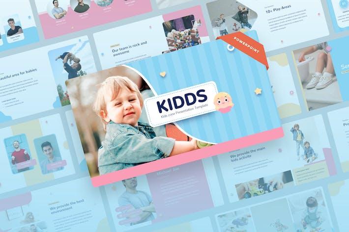 Kidds - Презентация точки питания для детей и детей