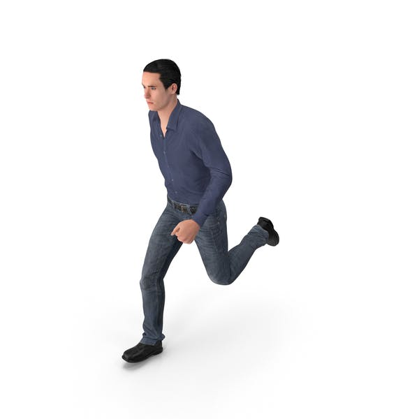 Casual Man James Running