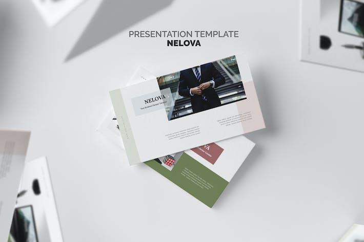Nelova : Startup Pitch Deck Powerpoint