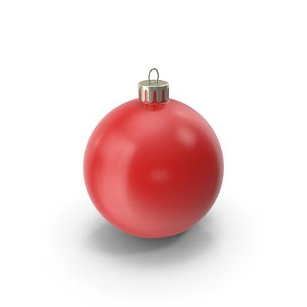Рождественский орнамент Красный