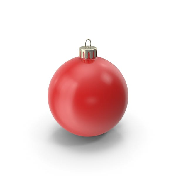 Christmas Ornament Red