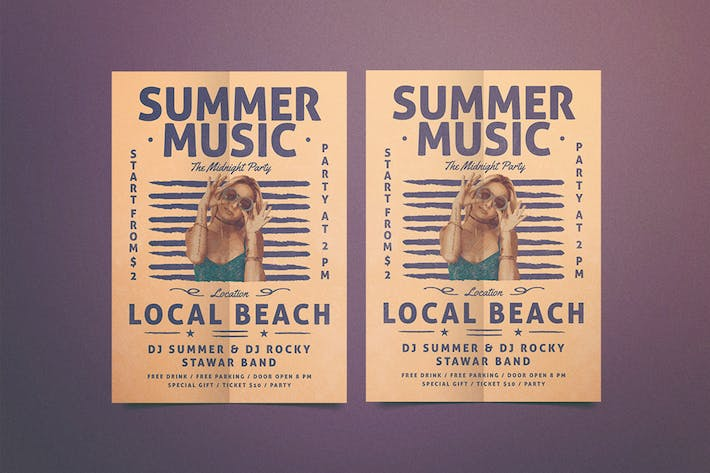 Cover Image For Summer Music