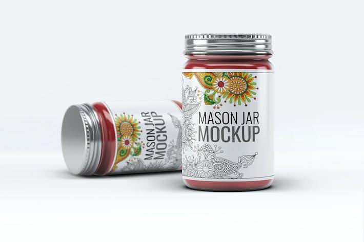Thumbnail for Mason Jar Mock-Up V.2
