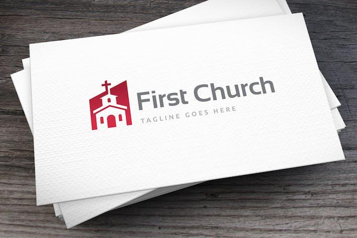 Thumbnail for First Church Logo Template