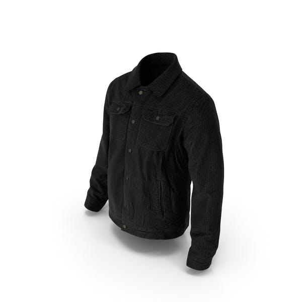 Мужская куртка черный