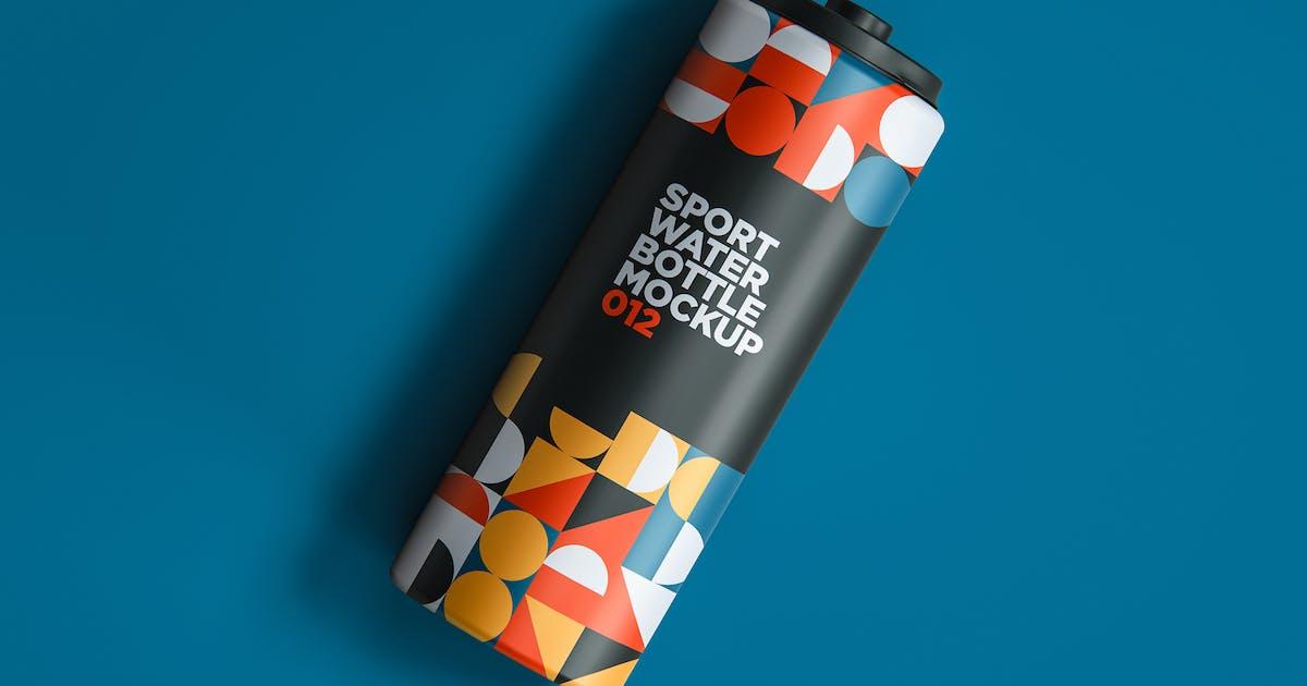 Download Sport Water Bottle Mockup 012 by traint