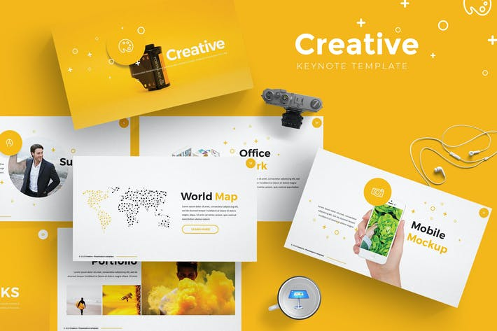 Cover Image For Creative Keynote Template
