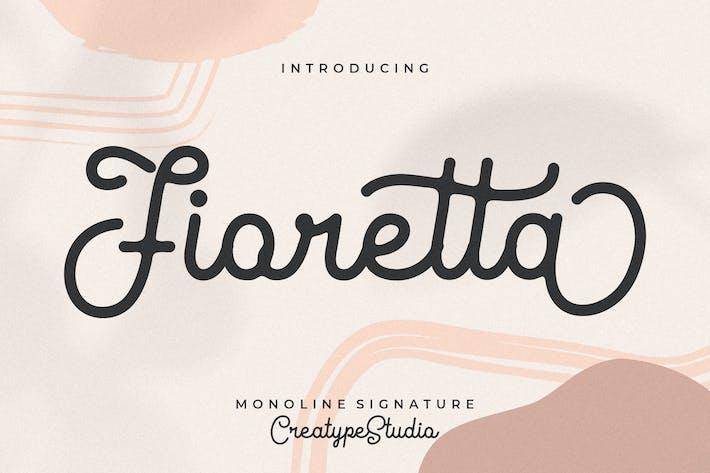 Thumbnail for Fioretta Monoline Signature