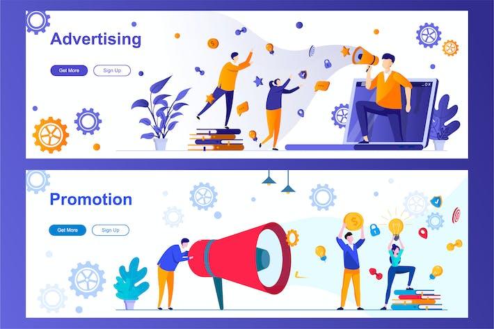 Thumbnail for Bannières Web de publicité et de promotion
