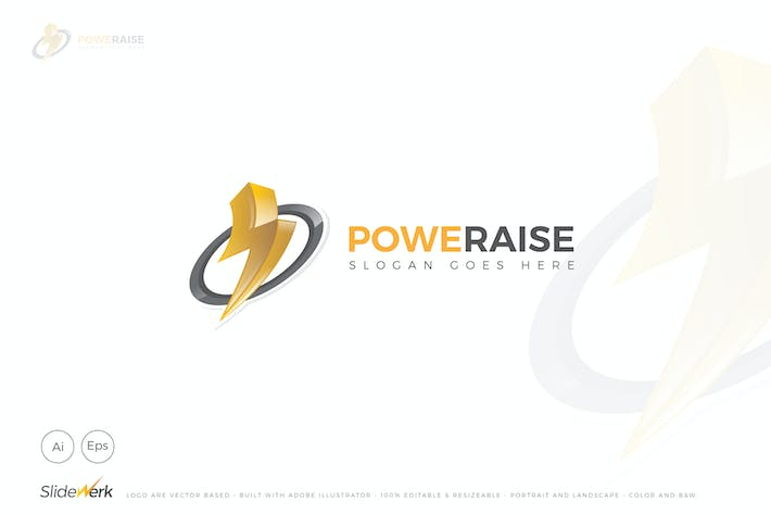Thumbnail for Poweraise Logo