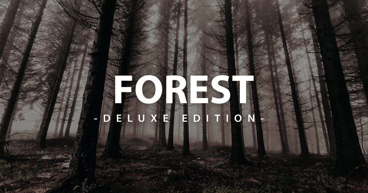 Download Forest Deluxe Edition | For Mobile and Desktop by LightPreset