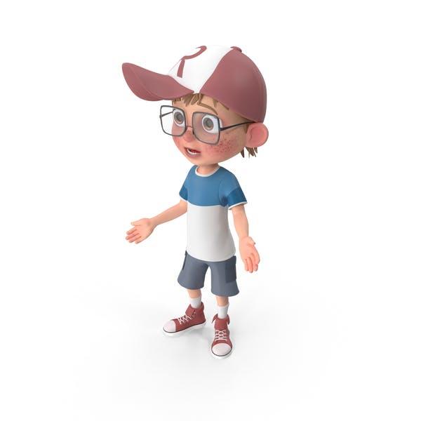 Cartoon Boy Sorry