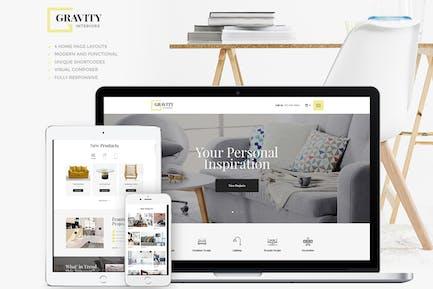 Gravity | Un design d'intérieur contemporain & Furnitu