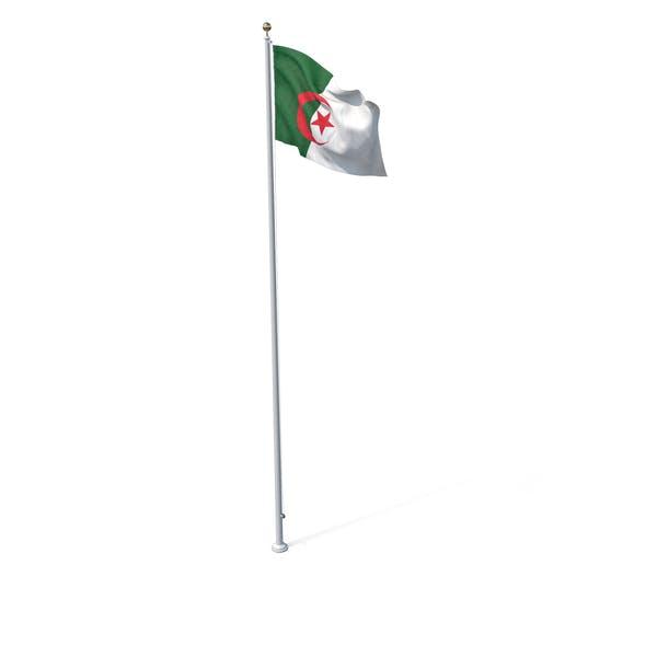Thumbnail for Flag On Pole Algeria