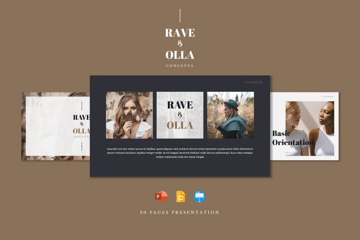 Thumbnail for Raveolla - Шаблон презентации