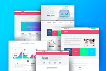 Markety - SEO & Digital Marketing WordPress Theme