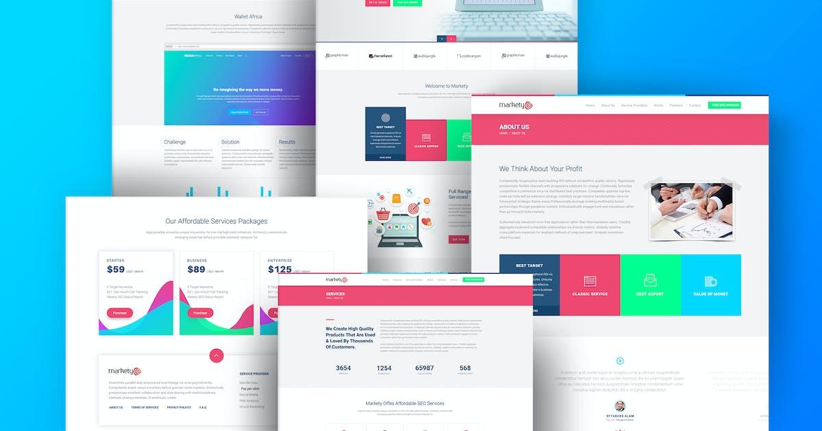 Download Markety - SEO & Digital Marketing WordPress Theme by TrendyTheme
