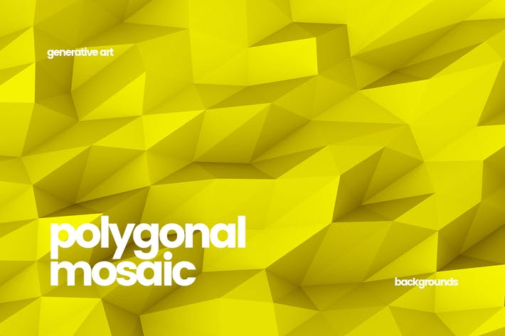 Thumbnail for Polygonal Mosaic Backgrounds