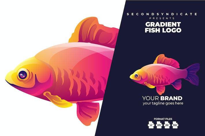 Gradient Fish Logo