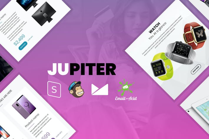 Thumbnail for Jupiter - E-commerce Responsive Email Template