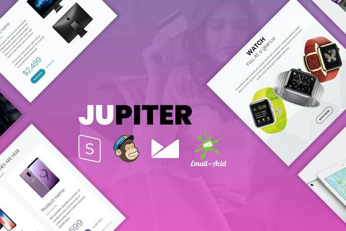 Thumbnail for Jupiter - E-commerce Responsive Email Template