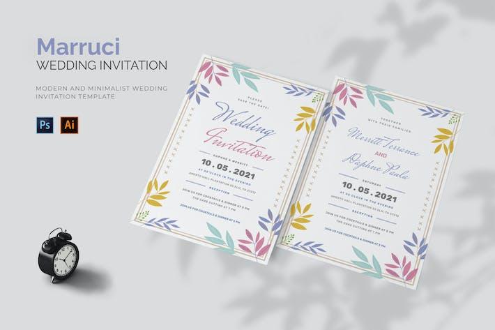 Thumbnail for Marucci - Wedding Invitation