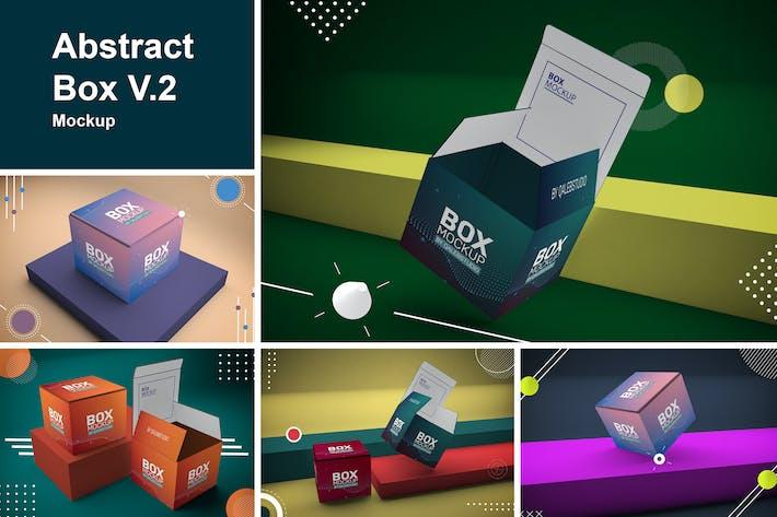 Thumbnail for Abstract Box Mockup V.2