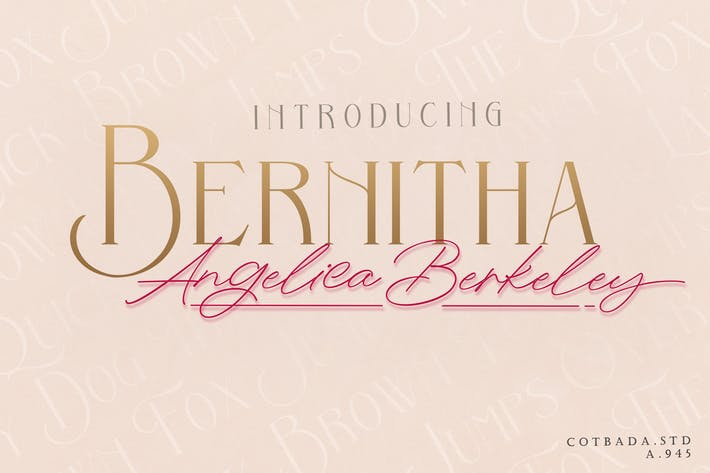 Thumbnail for Bernitha Angelica Berkeley