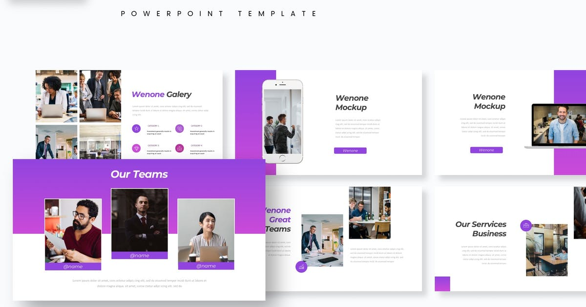 Download Wenone - Powerpoint Template by aqrstudio