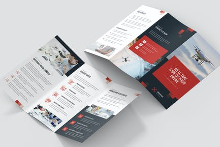 Brochure – Drone Service Tri-Fold