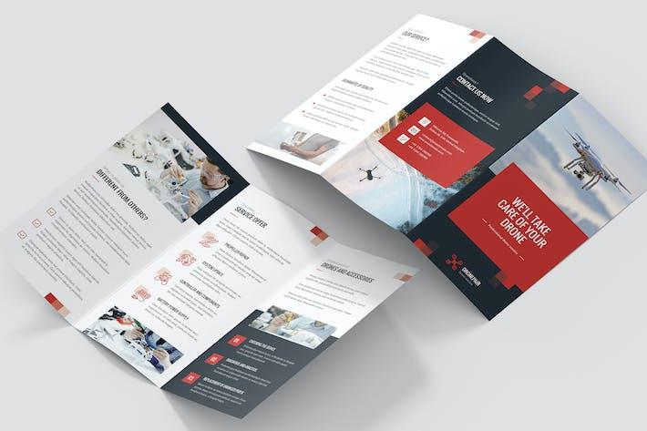 Thumbnail for Brochure – Drone Service Tri-Fold