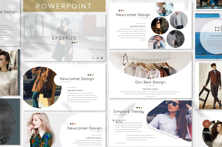 Thumbnail for Erpsyrus - Fashion Powerpoint Template