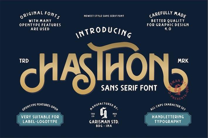 Thumbnail for Hasthon | Moderno Sans Con serifa