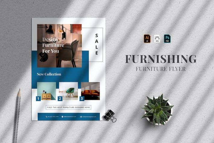 Furnishing - Flyer Template 28