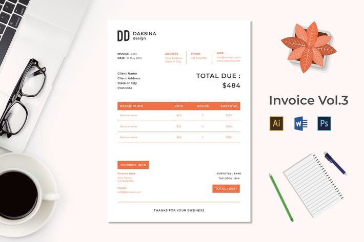 Thumbnail for Invoice Vol.4