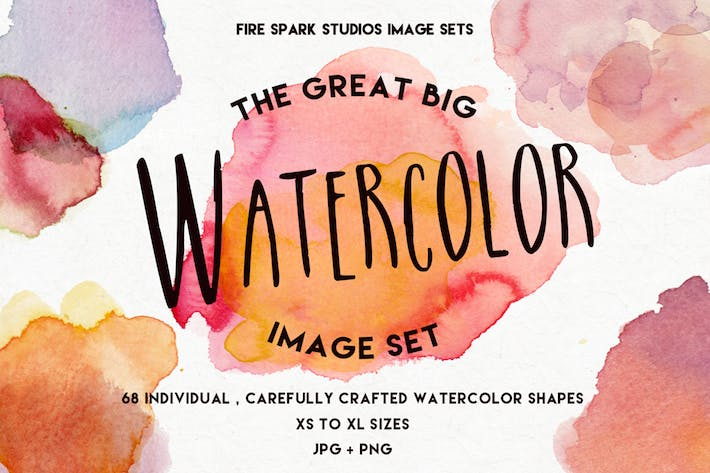 Thumbnail for The Great Big Watercolor Image Set