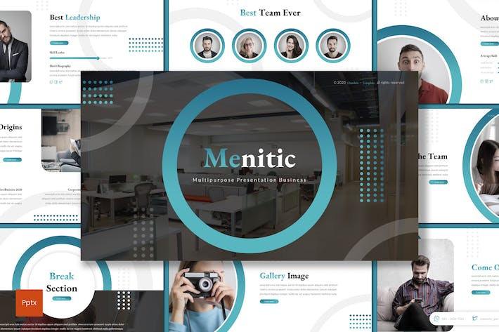 Thumbnail for Menitic - Business Powerpoint Template