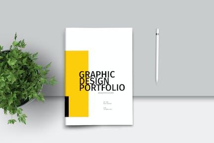 Grafikdesign-Portfolio Vorlage