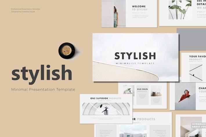 Thumbnail for STYLISH - Keynote Template