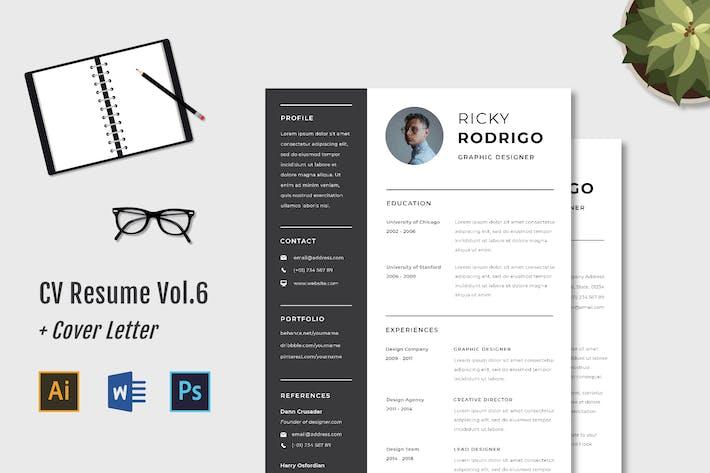Thumbnail for CV Resume Vol.6